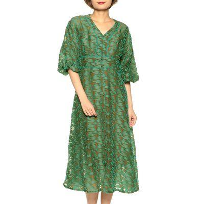 MASACO TERANISHI(マサコ テラニシ)ジャガードドレス