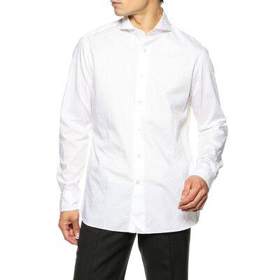 CATARISANO(カタリザーノ)限定ペイズリー柄ドビーシャツ