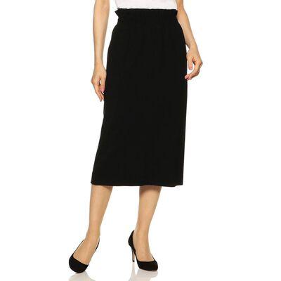 BARNEYS NEW YORK(バーニーズ ニューヨーク)ギャザージャージータイトスカート