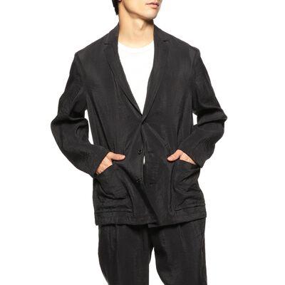 BARNEYS NEW YORK(バーニーズ ニューヨーク)シルクナイロンセットアップジャケット