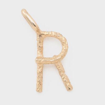 "STUDIO WATERFALL(スタジオ ウォーターフォール)【オーダー品】ペンダントトップ ""R"""