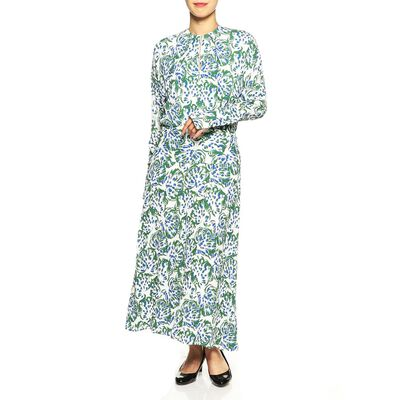 VICTORIA VICTORIA BECKHAM(ヴィクトリア ヴィクトリア ベッカム)ロングスリーププリントドレス
