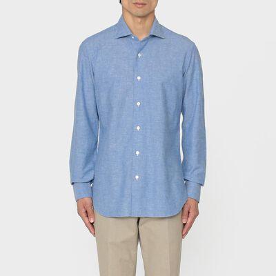 BARBA(バルバ)メランジシャツ