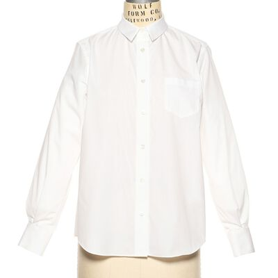 SACAI(サカイ)バックプリーツシャツ
