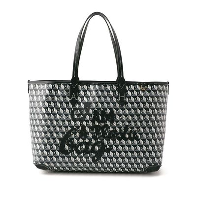 ANYA HINDMARCH(アニヤ ハインドマーチ)ロゴハンドバッグ