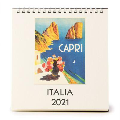 "CAVALLINI(カヴァリーニ)2021年デスクカレンダー ""ITALIA"""