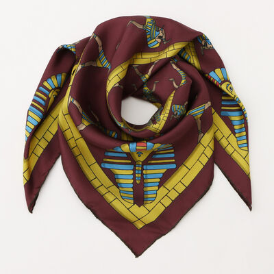 KINLOCH(キンロック)シルクスカーフ