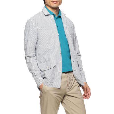 OSVALDO TRUCCHI(オズヴァルド トルッキ)シアサッカーシャツ