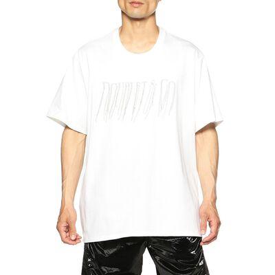 DOUBLET.(ダブレット)チェーンフリンジエンブロイダリーTシャツ