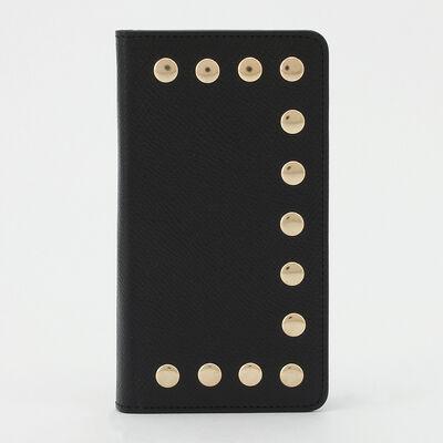 BARNEYS NEW YORK(バーニーズ ニューヨーク)スタッズ付スマートフォンケース (iPhone6~X対応)