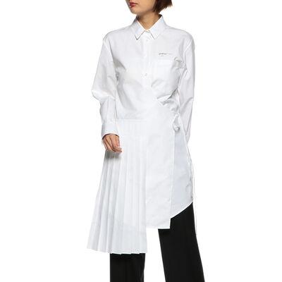 OFF-WHITE c/o VIRGIL ABLOH(オフ-ホワイト c/o ヴァージル アブロー)アシンメトリーラップドレス