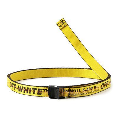 OFF-WHITE c/o VIRGIL ABLOH(オフ-ホワイト c/o ヴァージル アブロー)スリムロゴベルト