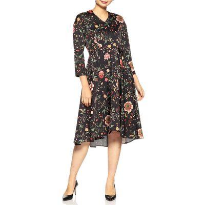 BARNEYS NEW YORK(バーニーズ ニューヨーク)ボタニカル柄ドレス