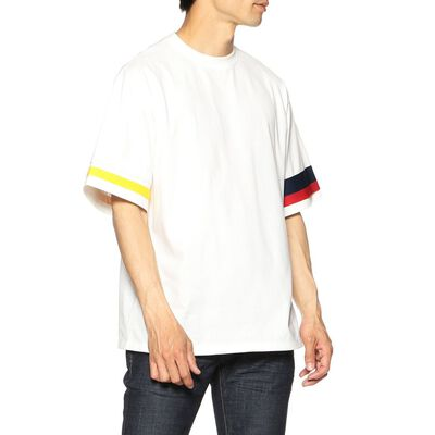 COOHEM(コーヘン)ニットテープデザインTシャツ