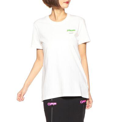 OFF-WHITE c/o VIRGIL ABLOH(オフ-ホワイト c/o ヴァージル アブロー)ロゴプリントTシャツ