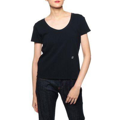 MADISONBLUE(マディソンブルー)クルーネック鹿の子Tシャツ