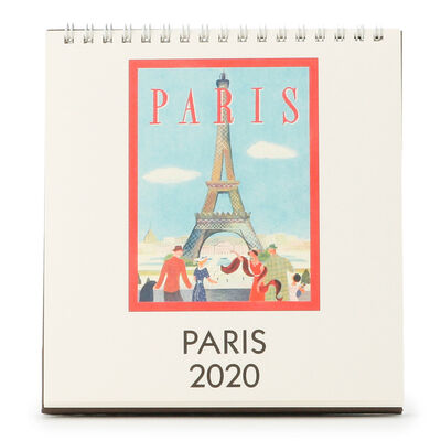 "CAVALLINI(カヴァリーニ)2020年度 デスクカレンダー ""PARIS"""