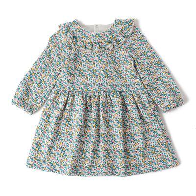 PETIT BATEAU(プチバトー)フラワープリントドレス