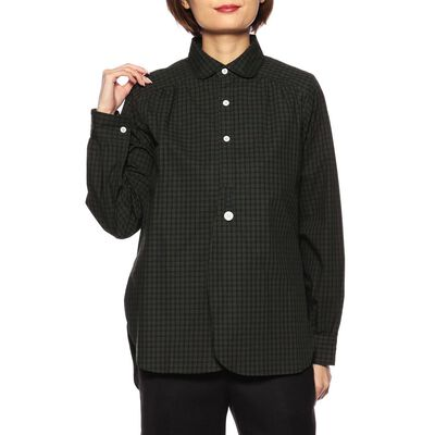 NEEDLES(ニードルス)ラウンドカラーシャツ