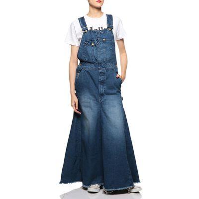MADISONBLUE(マディソンブルー)デニムオーバーオールスカート