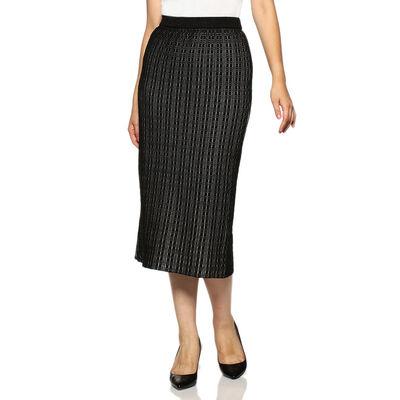 BARNEYS NEW YORK(バーニーズ ニューヨーク)透かし編みニットタイトスカート