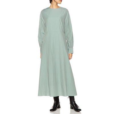 BARNEYS NEW YORK(バーニーズ ニューヨーク)ウォッシャブルロングスリーブAラインドレス