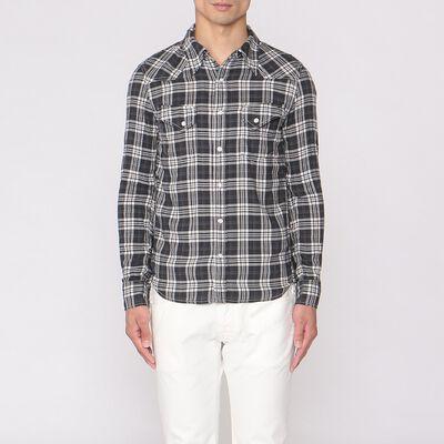 REMI RELIEF(レミレリーフ)限定タータンチェックシャツ