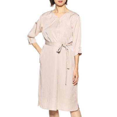 BARNEYS NEW YORK(バーニーズ ニューヨーク)コンビネーションAラインベルテッドドレス