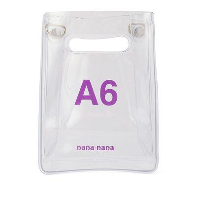NANANANA(ナナナナ)ストラップ付き2WAYミニバッグ