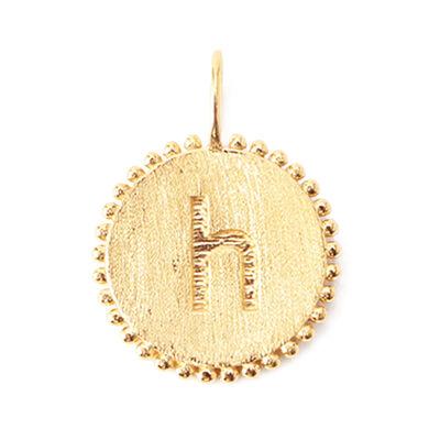 "LA SOEUR(ラ スール)【オーダー品】オンラインストア限定イニシャルペンダントトップ ""h"""