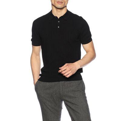 GRANSASSO(グランサッソ)コットンニットポロシャツ