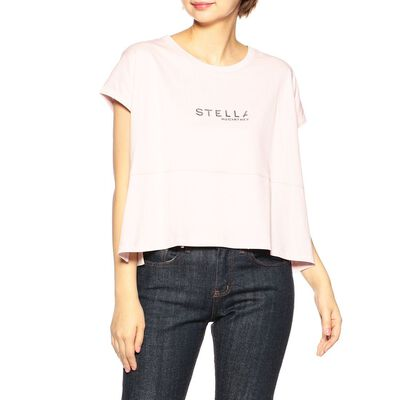 STELLA McCARTNEY(ステラ マッカートニー)ロゴプリントTシャツ