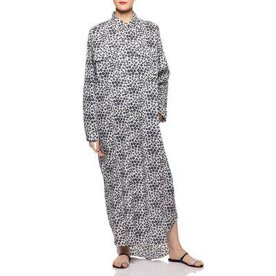 MADISONBLUE(マディソンブルー)フラワープリントシャツドレス