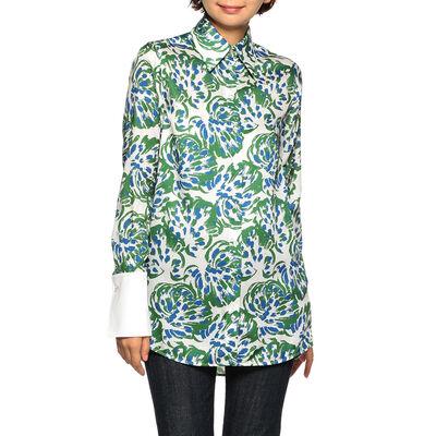 VICTORIA VICTORIA BECKHAM(ヴィクトリア ヴィクトリア ベッカム)フラワープリントシャツ