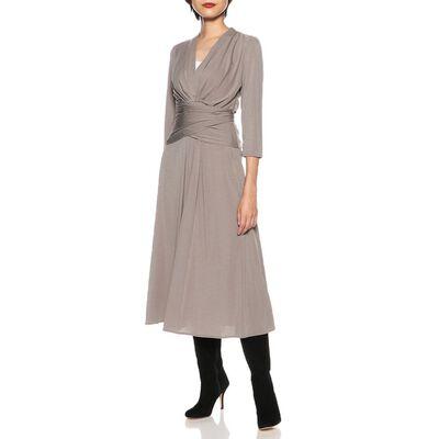 CORCOVADO(コルコバード)ウォッシャブルウエストギャザージャージードレス