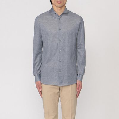 CATARISANO(カタリザーノ)コットンジャージーシャツ