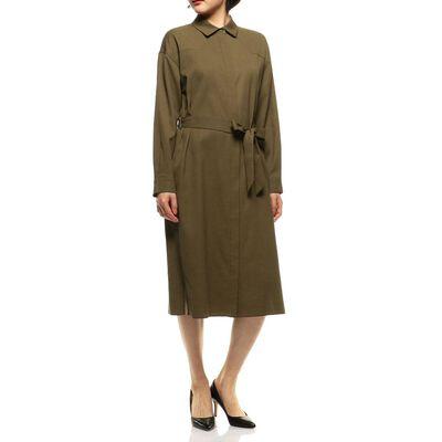 BARNEYS NEW YORK(バーニーズ ニューヨーク)ベルテッドシャツドレス