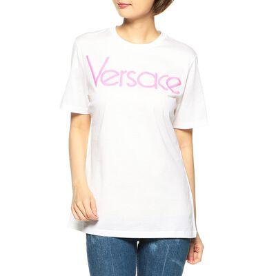 VERSACE(ヴェルサーチェ)エンブロイダリーロゴTシャツ