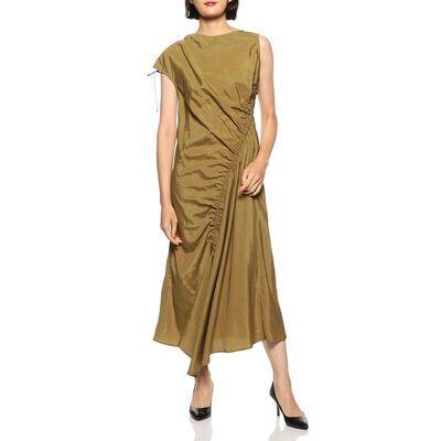 SHAINA MOTE(シャイナ モート)アシンメトリーロングドレス