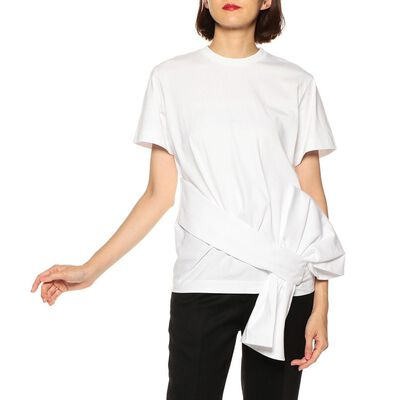 VICTORIA VICTORIA BECKHAM(ヴィクトリア ヴィクトリア ベッカム)ボリュームリボンTシャツ