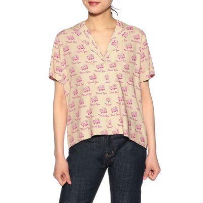 KULE(キュール)オープンカラーシャツ
