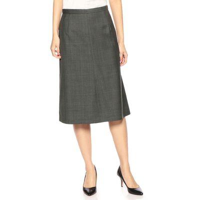 BARNEYS NEW YORK(バーニーズ ニューヨーク)セットアップチェック柄Aラインスカート