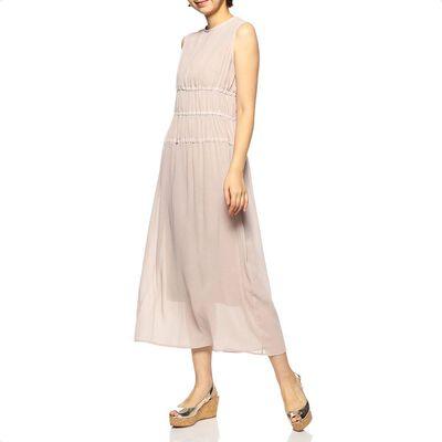 YOHEI OHNO(ヨウヘイオオノ)限定シフォンノースリーブドレス