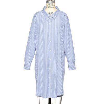 DRIES VAN NOTEN(ドリス ヴァン ノッテン)ピンストライプシャツドレス