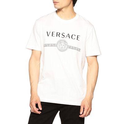 VERSACE(ヴェルサーチェ)ロゴプリントTシャツ