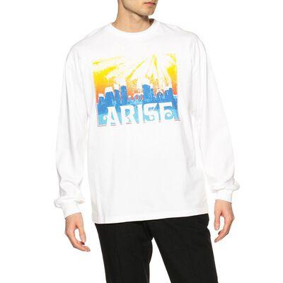 ARIES(アリーズ)プリントロングスリーブTシャツ