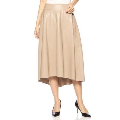 BARNEYS NEW YORK(バーニーズ ニューヨーク)アシンメトリーエコレザースカート