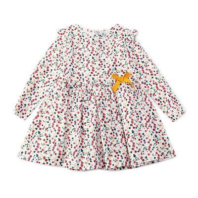 PETIT BATEAU(プチバトー)フラワープリントドレス(6Y)