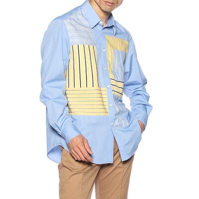 COOHEM(コーヘン)パッチワークシャツ