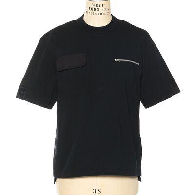 SACAI(サカイ)ハイブリッドジャージーTシャツ